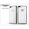 Aston Martin Apple iPhone 7 Plus/iPhone 8 Plus valódi bőr hátlap - Aston Martin Racing - white