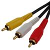 Astrum 3RCA apa - 3RCA apa kábel 5M CB-3RCA05-BL RC305