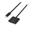 Astrum DA620 USB-C 3.1 - HDMI + USB-C + USB 3in1 adapter fehér