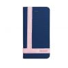 Astrum MC790 TEE PRO mágneszáras Samsung G930 Galaxy S7 könyvtok sötétkék-fehér