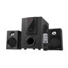 Astrum MS250 2.1 multimédia hangfal szett távirányítóval Bluetooth/FM/USB/kártyaolvasó 30W
