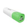 Astrum PB260 v2 fehér - zöld Power Bank 2600MAH 1 USB 1A