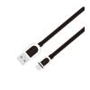 Astrum UD360 1M Micro USB bliszteres slim adatkábel fekete