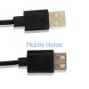 Astrum USB 2.0 hosszabbító kábel 1.8M fekete UE201