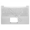 Asus 90NB0871-R32HU0 gyári új magyar, szürke háttérvilágított laptop billentyűzet + szürke felső fedél