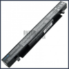 Asus A450CA 4400 mAh 8 cella fekete notebook/laptop akku/akkumulátor utángyártott