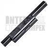 Asus K95VM Series 4400 mAh 6 cella fekete notebook/laptop akku/akkumulátor utángyártott