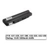Asus U20, U50, U80 új utángyártott 6 cellás laptop akkumulátor, A32-U80