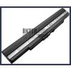 Asus UL30A 4400 mAh 8 cella fekete notebook/laptop akku/akkumulátor utángyártott