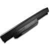 Asus X43T 6600 mAh 9 cella fekete notebook/laptop akku/akkumulátor utángyártott