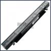 Asus X452E 4400 mAh 8 cella fekete notebook/laptop akku/akkumulátor utángyártott