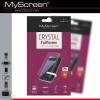 Asus Zenfone 3 Zoom ZE553KL, Kijelzővédő fólia (az íves részre is!), MyScreen Protector, Clear Prémium