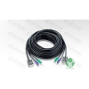 ATEN Console kábel 2L-1020P, PS/2, 20m (2L-1020P)