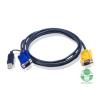 ATEN Console kábel ACS12XX-hez USB 6,0 m (2L-5206UP)
