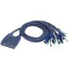 ATEN CS64US 4port USB VGA Audio KVM switch (CS64US)