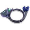 ATEN KVM Switch Aten CS-62S PS/2 (2 PC - 1 Monitor)