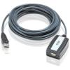 ATEN USB 2.0 A adatkábel hosszabbító 5m