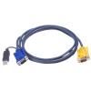 ATEN USB VGA KVM kábel 3m