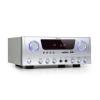 Auna Amp-2 BT, HiFi erősítő, RMS 2 x 50 W, BT, USB, SD, 2 x mikrofon bemenet, FM rádió tuner