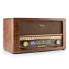 Auna auna Belle Epoque 1906 DAB, retro sztereó rendszer, CD, USB, MP3, AUX, FM/AM