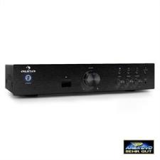 Auna AV2-CD508BT hi-fi erősítő, fekete, AUX, bluetooth erősítő