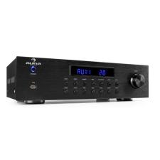Auna AV2-CD850BT 4 zónás sztereó erősítő, 5x80W RMS, Bluetooth, USB, CD, FM, fekete erősítő