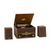 Auna Belle Epoque 1910, retró sztereó rendszer, lemezjátszó, CD-lejátszó, hangfalak