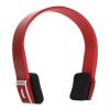 Auna Bluetooth fejhallgató, elem, handafree, piros