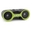 Auna Boombastic, bluetooth boombox, USB, SD, MP3, AUX, FM, LED, akkumulátor