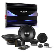 Auna CS Comp 8, HiFi összeállítás autóba, hangfal készlet/6-csatornás végerősítő hangfal