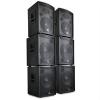 Auna DJ/PA 6-részes szett aktív Auna Pharos hangszórók, 7200 W