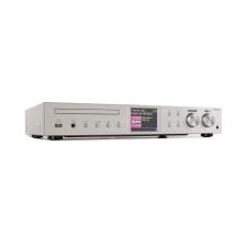 Auna iTuner CD, HiFi receiver, internet/DAB+/ FM rádió, CD-lejátszó, WiFi, ezüst cd lejátszó