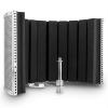 Auna MP32 MKII, ezüst, mikrofon abszorber, adapterekkel együtt