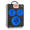 Auna oneConcept Central Park, 2.1 bluetooth hangfal, USB, SD, hordozható, kék