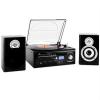 Auna TT-190 sztereó berendezés, gramofon, MP3 felvétel
