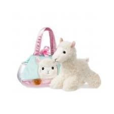 Aurora Fancy Pals, Alpaka táskában 20 cm Aurora gyerek hátizsák, táska