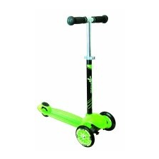 Authentic Háromkerekű gyerek bicikli – zöld, kerekek átmérője 120mm a 80mm tricikli