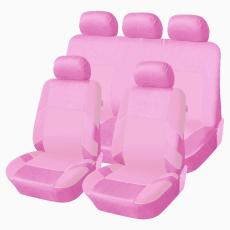 Autófejlesztés Univerzális üléshuzat garnitúra rózsaszín-rózsaszín (osztható) Exlusive