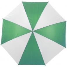 Automata esernyő, zöld/fehér