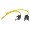 Automax Izzófoglalat fényszóró izzóhoz H3 vezetékes AM4624