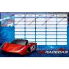 Autós/Super Racecar kétoldalas órarend