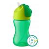 Avent Bájos itató pohár hajlékony szívószállal Avent 300 ml zöld | Zöld |
