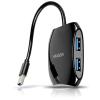 Axago N HUE-S1B QUATTRO USB 3.0 hub