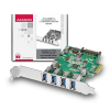 AXAGON PCEU-43V PCIE Controller 4x USB3.0