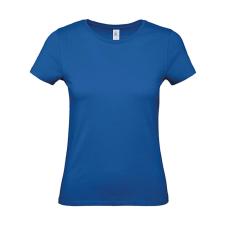 B and C Női rövid ujjú póló B&C #E150 /women T-Shirt -L, Királykék női póló