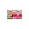 Babybio Babybio Bio almás-sárgabarackos-gabonás püré 2 * 130 g