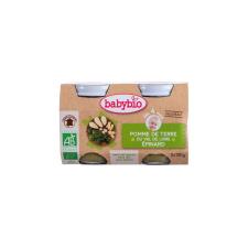 Babybio Babybio Bio burgonyás-spenótos finomság 2 * 130 g bébiétel