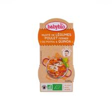 Babybio Babybio Bio zöldséges-csirkés ínyencség quinoával 2 x 200 g bébiétel