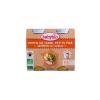 Babybio Babybio Bio zöldséges-sonkás ínyencség 2 x 200 g
