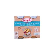 Babybio Bio burgonyás-t?kehalas ínyencség 2 x 200 g bébiétel